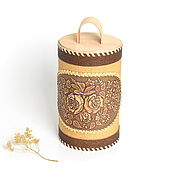 Для дома и интерьера handmade. Livemaster - original item Birch bark tues made of large