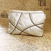 Сумки и аксессуары handmade. Livemaster - original item Pearl clutch bag, white handbag, wedding bag (141). Handmade.