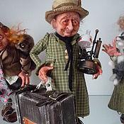 Куклы и игрушки ручной работы. Ярмарка Мастеров - ручная работа Эльф-коротышка.. Handmade.
