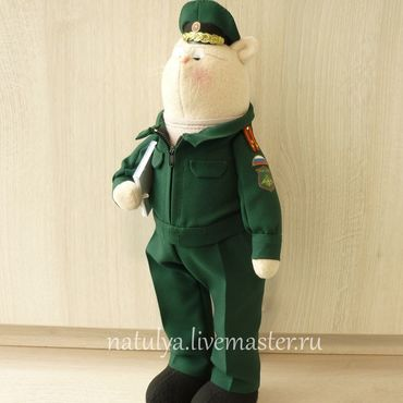 Кот военный прокурор. Подарок прокурору. зелёный