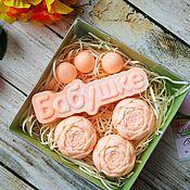 Косметика ручной работы handmade. Livemaster - original item For grandma a set of organic handmade soap.. Handmade.