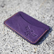 Сумки и аксессуары handmade. Livemaster - original item business card Holder  premium Japanese leather ( card case ). Handmade.