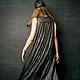 """Платья ручной работы. Платье """"Сквозь сон"""". Анна Колдунова. Ярмарка Мастеров. Нарядное платье, сарафан, сарафан ниже колена"""
