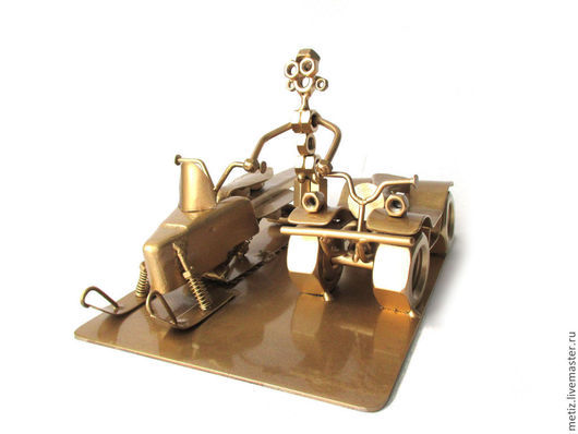 """Подарки для мужчин, ручной работы. Ярмарка Мастеров - ручная работа. Купить Сувенир - """"Водитель профессионал"""". Handmade. Изделие из металла, экстремал"""