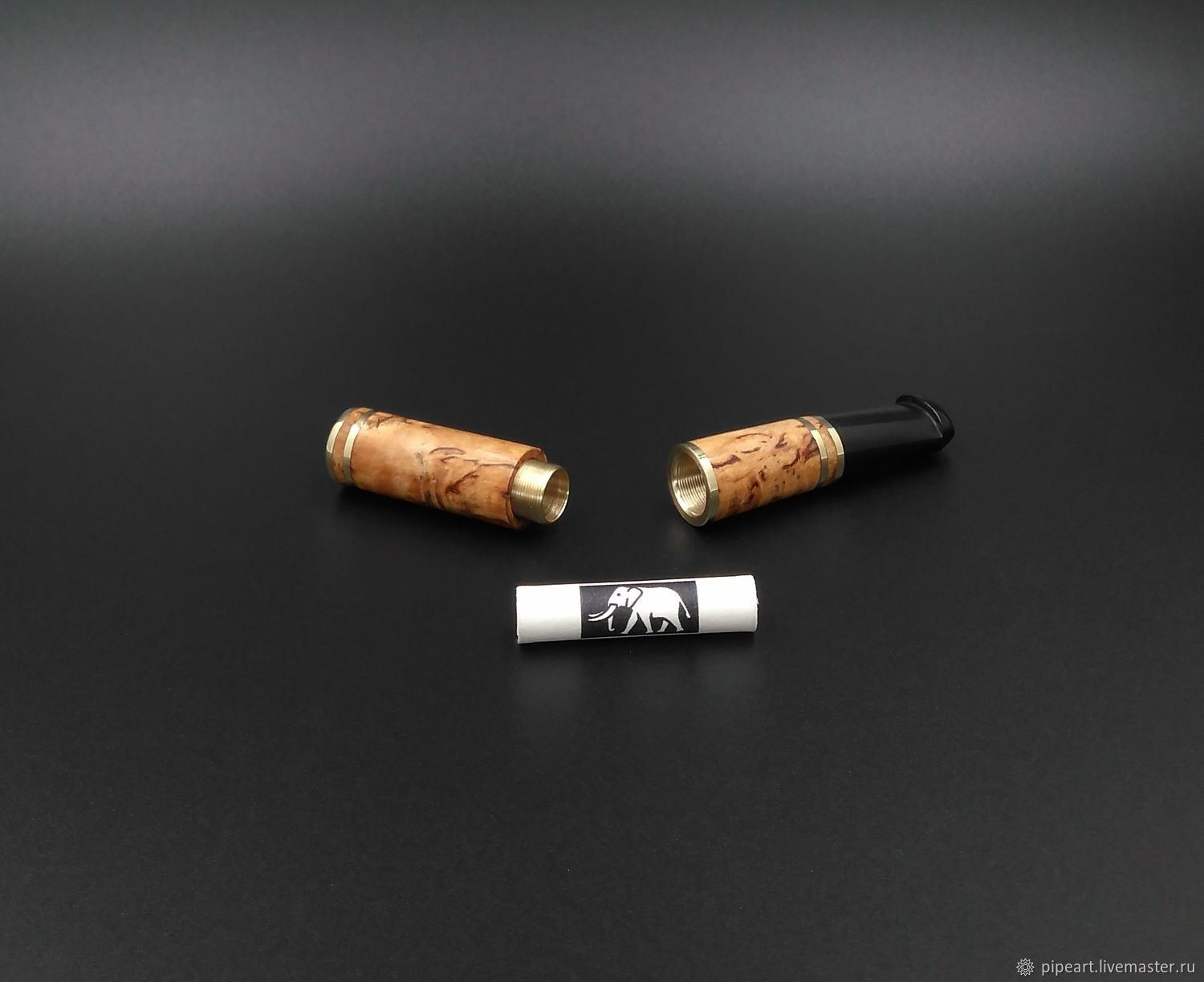 Mouthpiece 1-116 Karelian birch, Cigarette holder, Moscow,  Фото №1