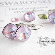 Украшения handmade. Livemaster - original item Set with Swarovski crystals 4470
