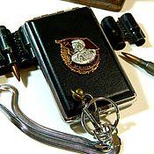 Сувениры и подарки handmade. Livemaster - original item Cigarette case for 12,18 cigarettes with the order