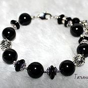 Bead bracelet handmade. Livemaster - original item bracelet agate