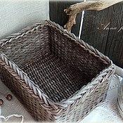 Для дома и интерьера handmade. Livemaster - original item Knitted box. Handmade.