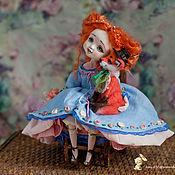 Куклы и игрушки ручной работы. Ярмарка Мастеров - ручная работа Принцесса Машенька с другом Лисенком). Handmade.