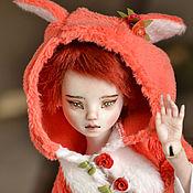 "handmade. Livemaster - original item Porcelain ball jointed doll ""The little Fox"". Handmade."