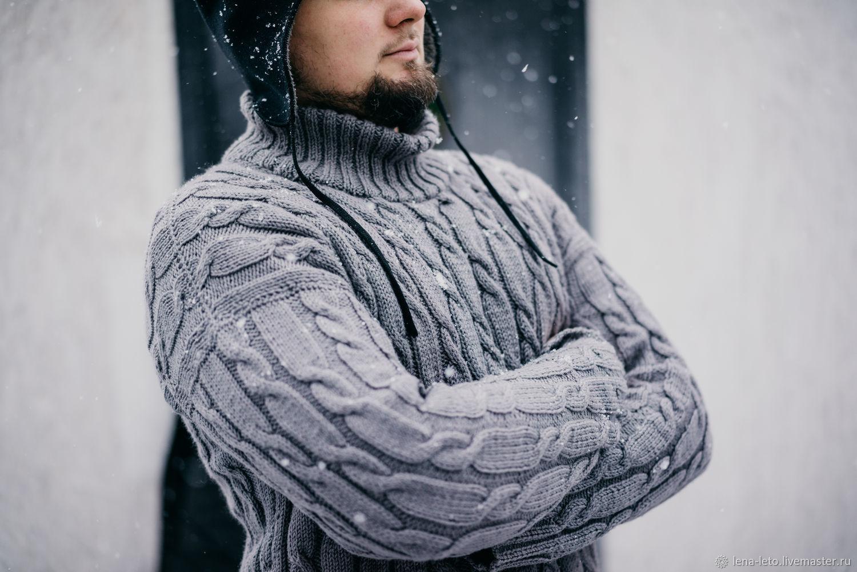 """Мужской свитер """"Молочный шоколад"""", Свитеры, Керчь,  Фото №1"""
