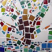 """Картины и панно ручной работы. Ярмарка Мастеров - ручная работа Мозаика. """"Дерево"""". Handmade."""