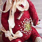 Куклы и игрушки ручной работы. Ярмарка Мастеров - ручная работа Мишка тедди Брусника. Handmade.