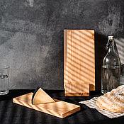 handmade. Livemaster - original item Cutting boards 4 pcs on a stand RDN4. Handmade.
