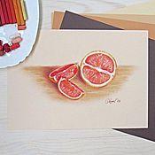 """Картины и панно ручной работы. Ярмарка Мастеров - ручная работа """"Красные апельсины"""". Handmade."""