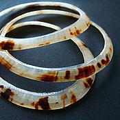 Материалы для творчества handmade. Livemaster - original item Rings cut shell Cellana testudinaria. Handmade.