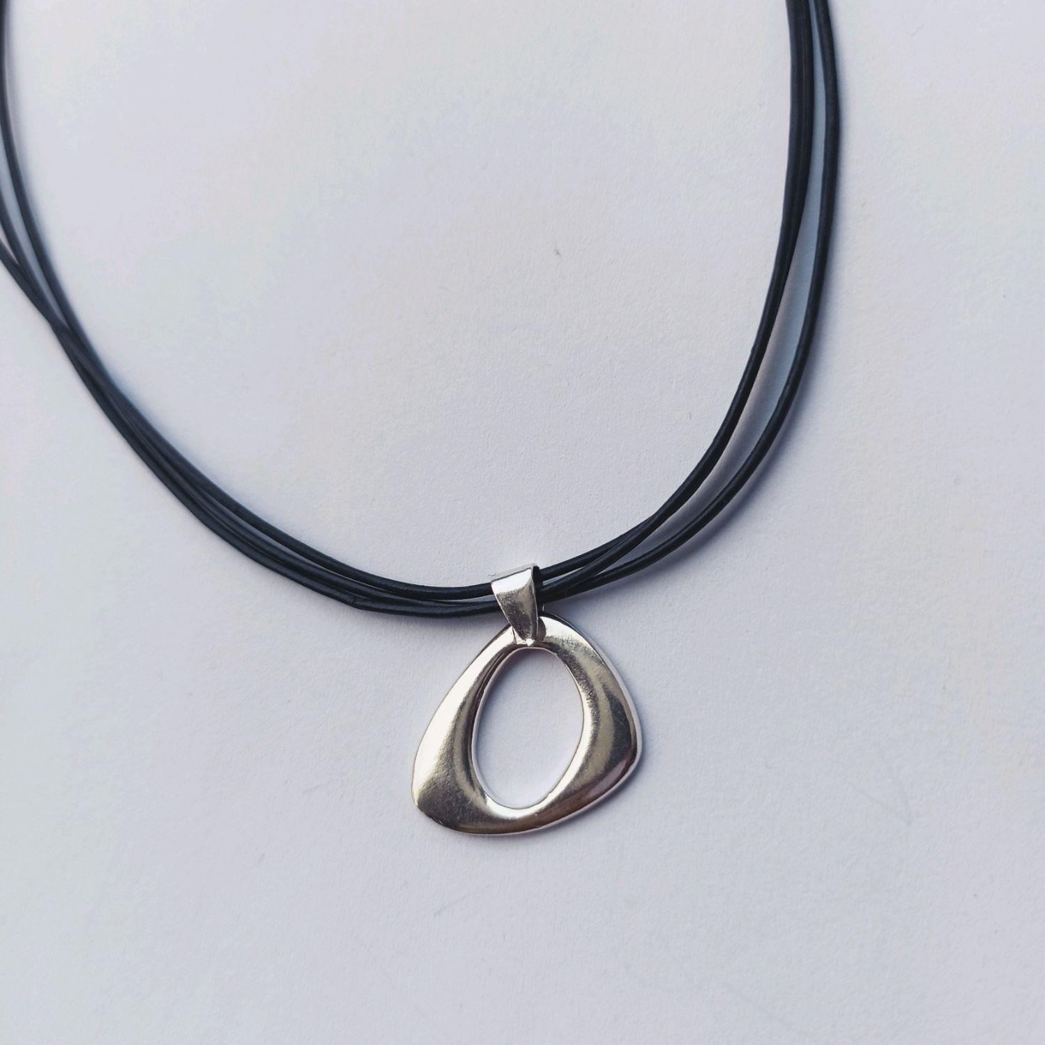 Silver geometry pendant. Silver 925 sample, Pendant, Turin,  Фото №1