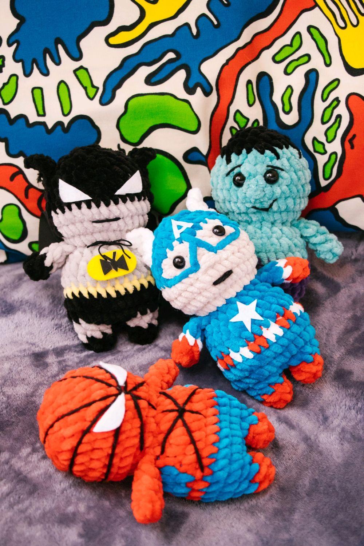Игрушка Капитан Америка Марвел, Мягкие игрушки, Москва,  Фото №1