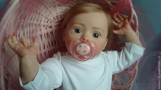 Куклы-младенцы и reborn ручной работы. Ярмарка Мастеров - ручная работа. Купить Кукла реборн. Handmade. Бежевый, реборнинг
