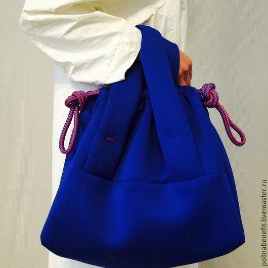 Женские сумки ручной работы. Ярмарка Мастеров - ручная работа. Купить сумка-трансформер из неопрена. Handmade. Сумка, сумка для женщины