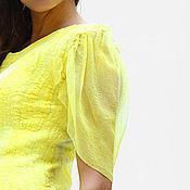 Одежда ручной работы. Ярмарка Мастеров - ручная работа Игривое валяное мини платье. Handmade.