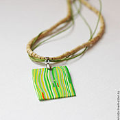 Украшения handmade. Livemaster - original item Pendant Summer meadow.. Handmade.