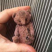 Материалы для творчества ручной работы. Ярмарка Мастеров - ручная работа Выкройка маленького медвежонка. Handmade.