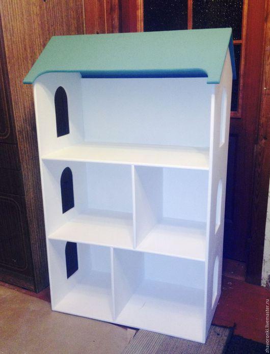 Кукольный дом ручной работы. Ярмарка Мастеров - ручная работа. Купить Домик для кукол и игрушек. Handmade. Домик, дом для игрушек