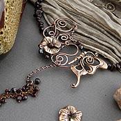 Украшения handmade. Livemaster - original item Necklace copper