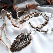 Украшения handmade. Livemaster - original item Necklace: Necklace