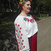 Одежда handmade. Livemaster - original item Embroidered shirt, Concert shirt, stage costume, embroidery.. Handmade.