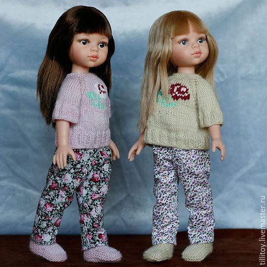 Одежда для кукол ручной работы. Ярмарка Мастеров - ручная работа. Купить Цветочный комплект для кукол Paola Reina. Handmade. Комбинированный
