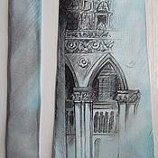 """Аксессуары ручной работы. Ярмарка Мастеров - ручная работа Галстук """"Дворец Дожей. Венеция"""". Handmade."""