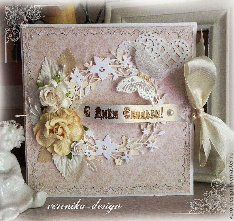 Большая свадебная открытка скрапбукинг 93