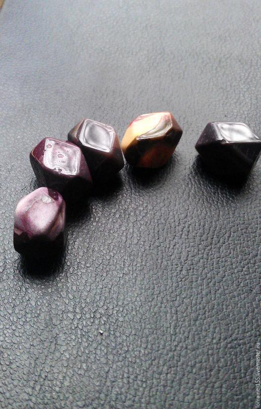 Для украшений ручной работы. Ярмарка Мастеров - ручная работа. Купить натуральный камень родонит. Handmade. Комбинированный, камень