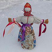 Фен-шуй и эзотерика ручной работы. Ярмарка Мастеров - ручная работа Масленица кукла оберег для дома из лыка. Handmade.
