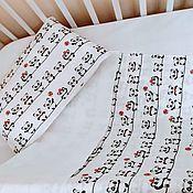 Мобили на кроватку ручной работы. Ярмарка Мастеров - ручная работа Постельное бельё. Handmade.