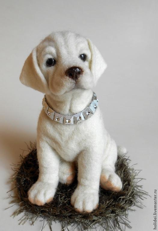 Labrador dog LORD, Stuffed Toys, Zelenograd,  Фото №1