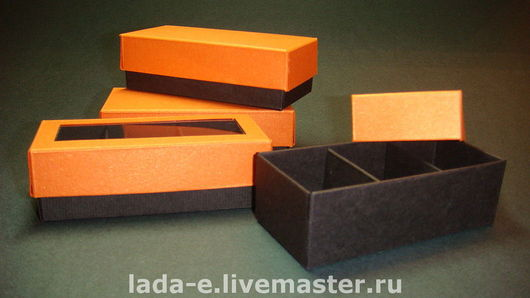 Gift Wrapping handmade. Livemaster - handmade. Buy Box individual sections.Packaging, copyright packaging