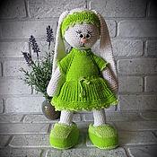 Куклы и игрушки ручной работы. Ярмарка Мастеров - ручная работа Потеряшка Кукла заяц тильда вязаный. Handmade.