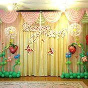 Свадебный салон ручной работы. Ярмарка Мастеров - ручная работа Оформление шарами. Handmade.
