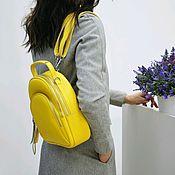 Рюкзаки ручной работы. Ярмарка Мастеров - ручная работа Женский рюкзак из натуральной кожи. Handmade.