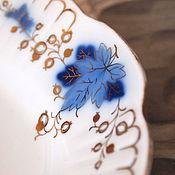 Винтаж handmade. Livemaster - original item Dish Gooseberries, porcelain, vintage. Handmade.