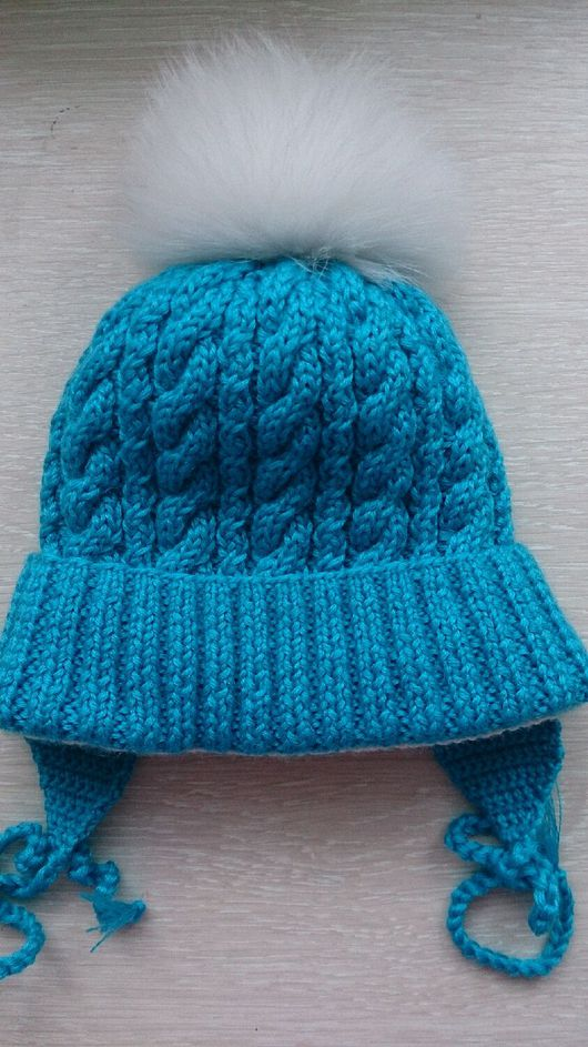 Шапки ручной работы. Ярмарка Мастеров - ручная работа. Купить Теплая шапка для малыша. Handmade. Шапка, вязание для малышей