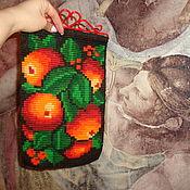 Панно Средиземноморские Апельсины на ажурной планке