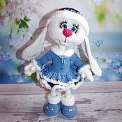 Куклы и игрушки handmade. Livemaster - original item Bunny Lisa. Maiden. Rabbit knitted. Handmade.