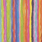 Салфетки для декупажа ручной работы. Ярмарка Мастеров - ручная работа Салфетки для декупажа Разноцветие. Handmade.