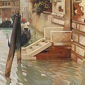 """Картины и панно ручной работы. Ярмарка Мастеров - ручная работа Картина """"На Гранд-канале Венеции"""". Handmade."""