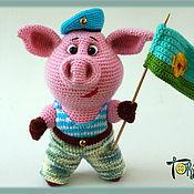 Куклы и игрушки handmade. Livemaster - original item Brave chubby airborne. Handmade.